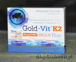 Olimp Labs Gold - Vit K2 Plus MK7   1000j.m. D3 30 kapsułek